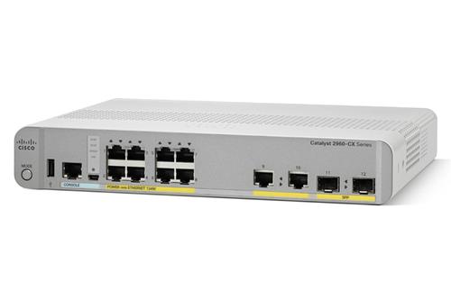 Cisco 2960-CX Managed L2/L3 Gigabit Ethernet (10/100/1000) Power over Ethernet (PoE) Wit