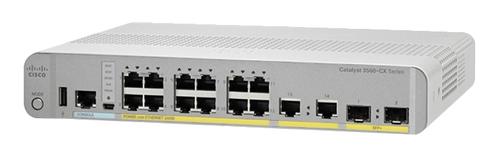 Cisco Catalyst WS-C3560CX-12TC-S netwerk-switch Managed L2/L3 Gigabit Ethernet (10/100/1000) Grijs, Wit