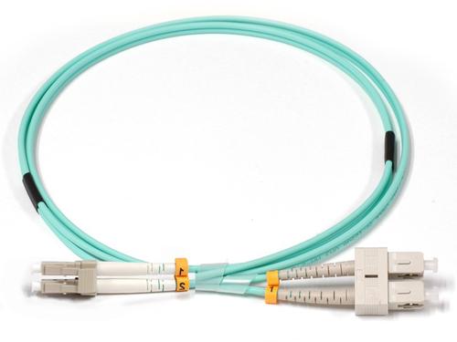 Lenovo 00MN502 Glasvezel kabel 1 m LC OM3 Turkoois