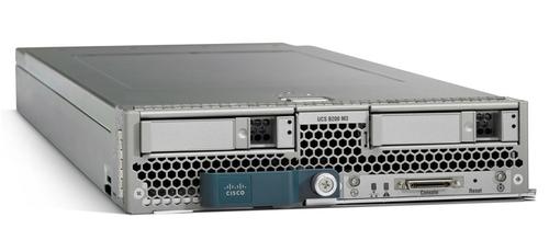 Cisco UCS B200 M3, Refurbished Intel C600 LGA 2011 (Socket R) Gray