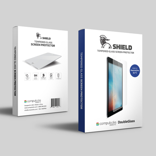 Maclocks DGSIPDA Doorzichtige schermbeschermer iPad Air / Air 2 1stuk(s) schermbeschermer