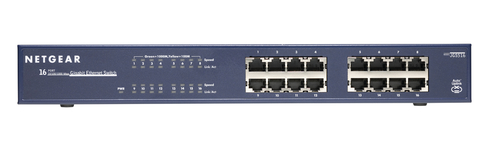 Netgear JGS516 Unmanaged network switch Blue