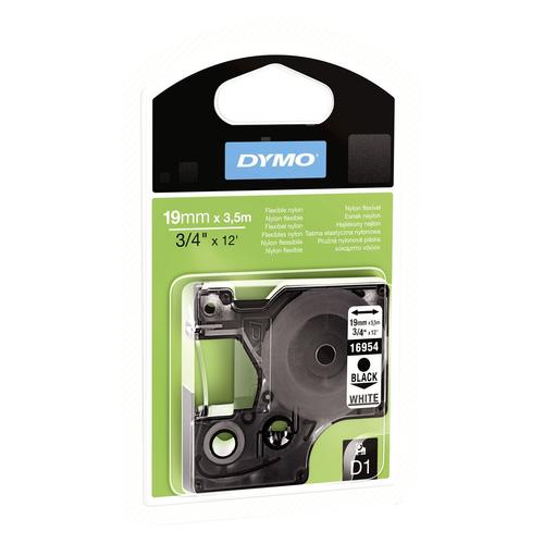 DYMO 19mm D1 Flexible Nylontape D1 label-making tape