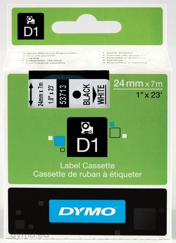DYMO D1 Standard 24mm x 7m D1 label-making tape