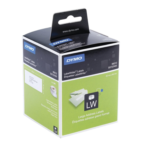 DYMO Large Address Labels Black,White 260pc(s) self-adhesive label