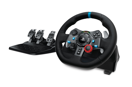 Logitech G29 Stuurwiel + pedalen Playstation 3,PlayStation 4 Zwart