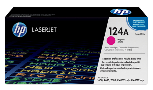 HP 124A originele magenta LaserJet tonercartridge