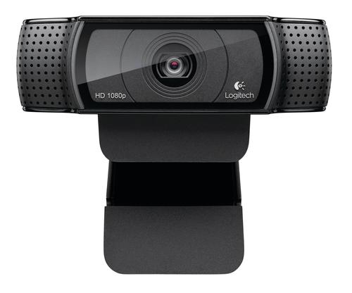 Logitech C920 15MP 1920 x 1080pixels USB 2.0 Black webcam