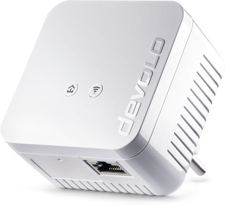 Devolo dLAN 550 WiFi Ethernet LAN Wi-Fi Wit 1stuk(s) PowerLine-netwerkadapter