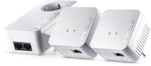 Devolo dLAN 550 WiFi Network Kit Powerline NL Ethernet LAN Wi-Fi Wit 3stuk(s) PowerLine-netwerkadapter