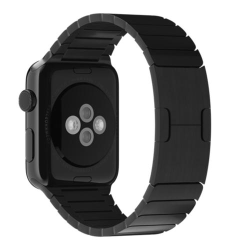 Apple MJ5K2ZM/A smartwatch-accessoire Band Zwart Roestvrijstaal