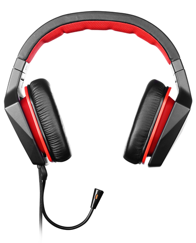 Lenovo GXD0J16085 Stereofonisch Hoofdband Zwart, Rood hoofdtelefoon