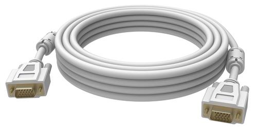 Vision 2x VGA 15-pin D-Sub, 1m VGA kabel VGA (D-Sub) Wit