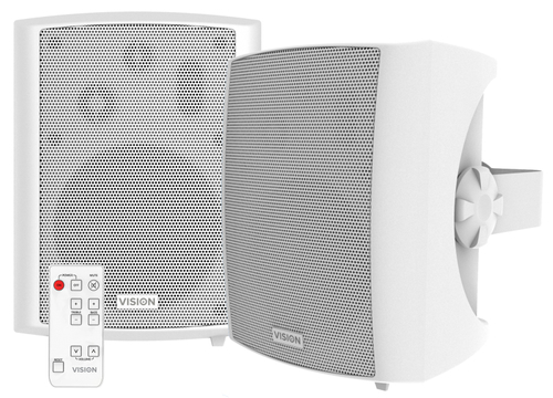 Vision SP-1800P luidspreker Wit Bedraad 60 W