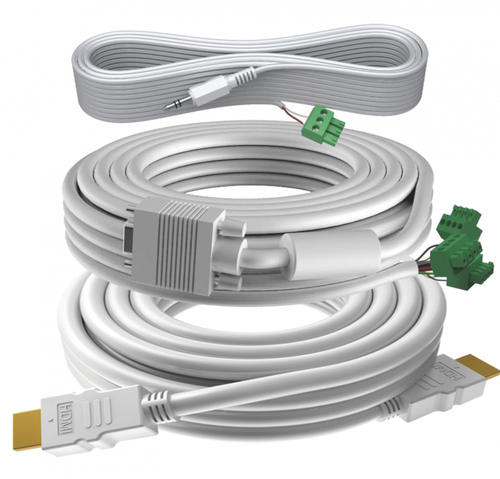 Vision TC3-PK10MCABLES VGA kabel 10 m VGA (D-Sub) Wit
