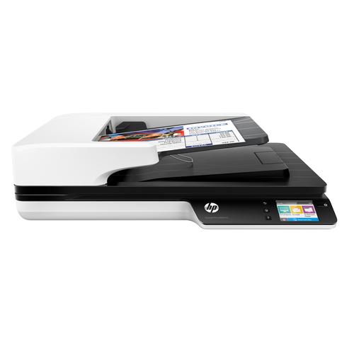 HP Scanjet Pro 4500 fn1 1200 x 1200 DPI Flatbed-/ADF-scanner Grijs A4