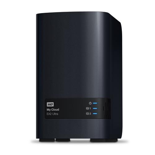 Western Digital My Cloud EX2 Ultra NAS Desktop Ethernet LAN Black