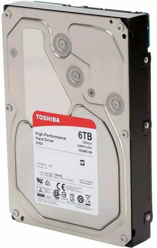 """Toshiba X300 3.5"""" 6000 GB SATA III"""