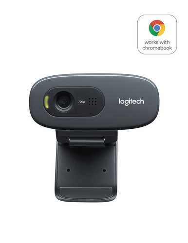 Logitech C270 HD webcam 3 MP 1280 x 720 Pixels USB 2.0 Zwart