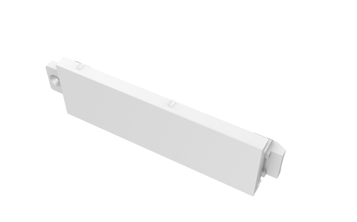 Vision TC3 BLANK White switch plate/outlet cover