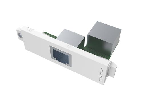 Vision TC3 RJ45 RJ-45 White socket-outlet