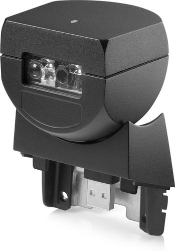 HP RP9 geïntegreerde barcodescanner, zij