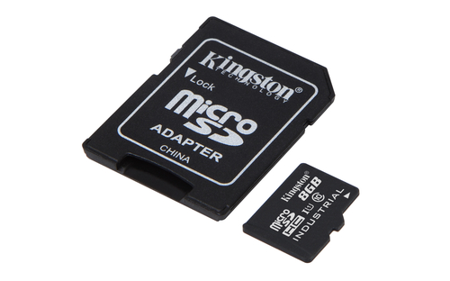 Kingston Technology Industrial Temperature microSD UHS-I 8GB 8GB MicroSD UHS-I Class 10 memory card