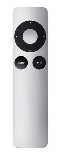 Apple Remote afstandsbediening Home cinema-systeem Drukknopen