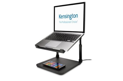 Kensington SmartFit® Laptop Riser with Wireless Phone Charging Pad