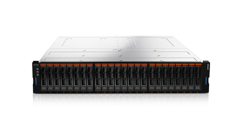 Lenovo Storage V3700 V2 Rack (2U) Zwart, Zilver disk array
