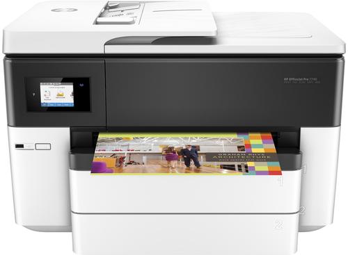 HP OfficeJet Pro Pro 7740 Wide Format AiO 4800 x 1200DPI Thermische inkjet A3 22ppm Wi-Fi