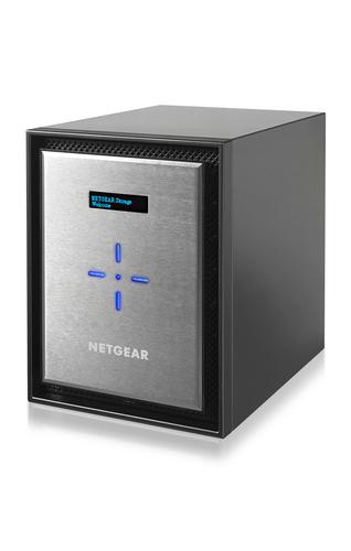 Netgear ReadyNAS 526X NAS Mini Tower Ethernet LAN Black,Silver