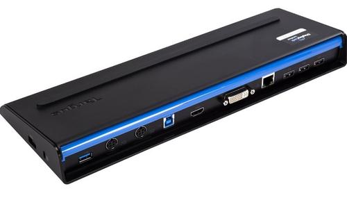 Targus ACP71EUZA USB 3.0 (3.1 Gen 1) Type-B Zwart notebook dock & poortreplicator