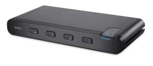 Linksys F1DN104K-3 KVM-switch Zwart