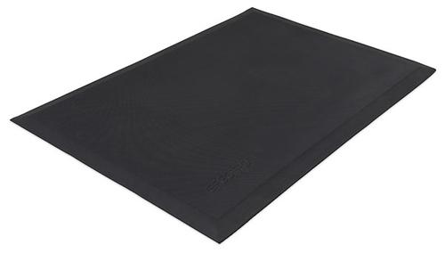 Ergotron Neo-Flex Floor Mat Rubberen mat Binnen/buiten Rechthoekig Zwart