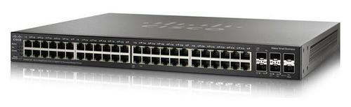 Cisco Small Business SG350X-48P Managed L2/L3 Gigabit Ethernet (10/100/1000) Black 1U Power over Ethernet (PoE)