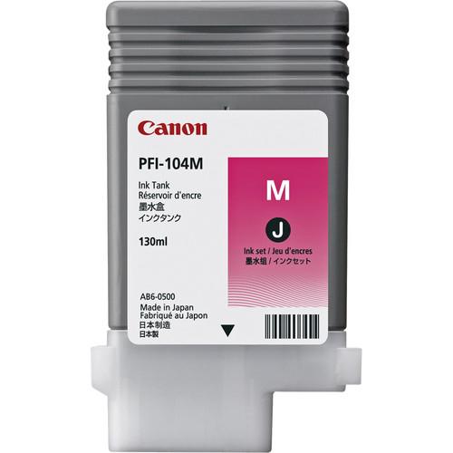 Canon PFI-104M 130ml Magenta inktcartridge