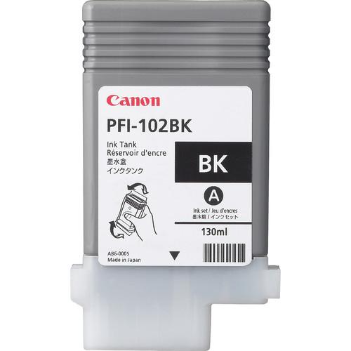 Canon PFI-102BK 130ml Zwart inktcartridge