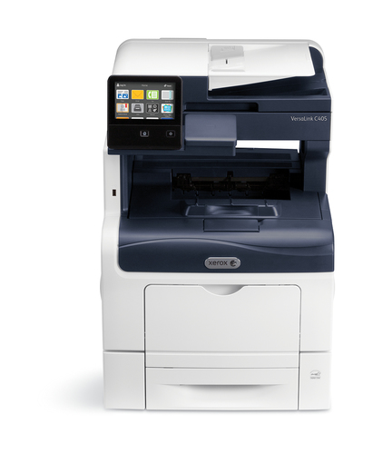 Xerox VersaLink C405 A4 35 / 35ppm Copy/Print/Scan/Fax Sold PS3 PCL5e/6 2 laden 700 vel