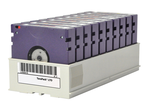 HP LTO-6 Ultrium 6.25 TB BaFe RW Custom Labelled Terapack (10 pack) 2500GB 12.65mm