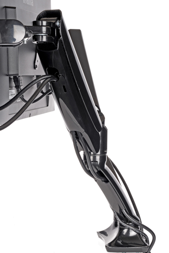 "iiyama DS3001C-B1 27"" Clamp Black flat panel desk mount"