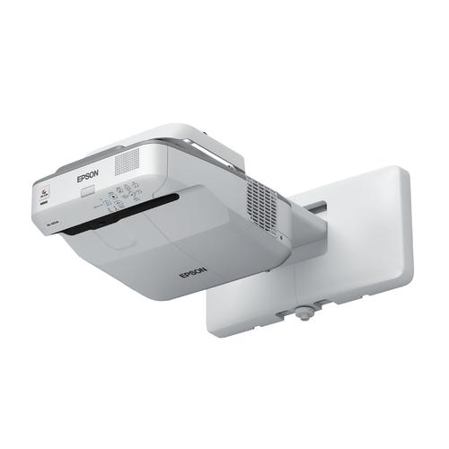 Epson EB-685Wi Wall-mounted projector 3500ANSI lumens 3LCD WXGA (1280x800) Grey,White data projector