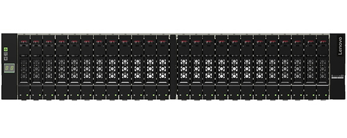 Lenovo D1224 disk array Zwart