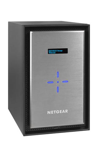 Netgear ReadyNAS 628X NAS Mini Tower Ethernet LAN Black,Silver