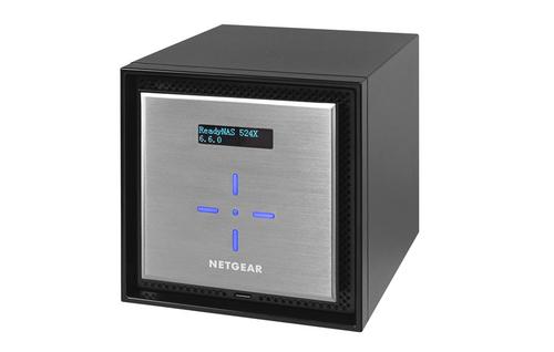 Netgear ReadyNAS 524X NAS Mini Tower Ethernet LAN Black, Silver D1508