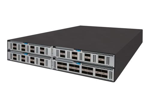 HP FF 5950 4-slot Managed Gigabit Ethernet (10/100/1000) Zwart Power over Ethernet (PoE)
