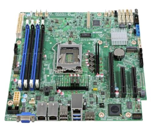 Intel S1200SPOR Intel C236 Micro ATX server/workstation motherboard