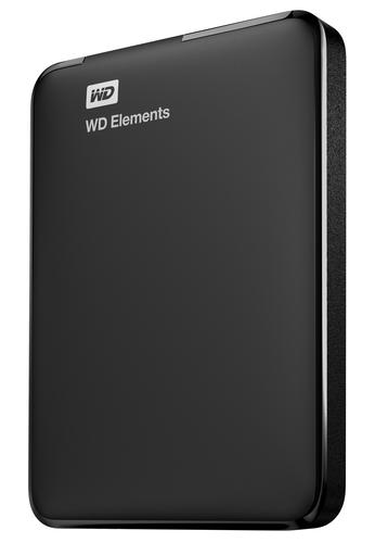 Western Digital WD Elements Portable 1000GB Black external hard drive
