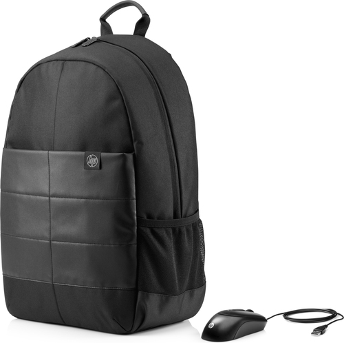 HP 15.6 Classic Backpack Nylon Zwart rugzak