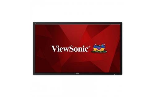 "Viewsonic CDE7500 signage display Digital signage flat panel 190.5 cm (75"") LED 4K Ultra HD Black Android 5.0"
